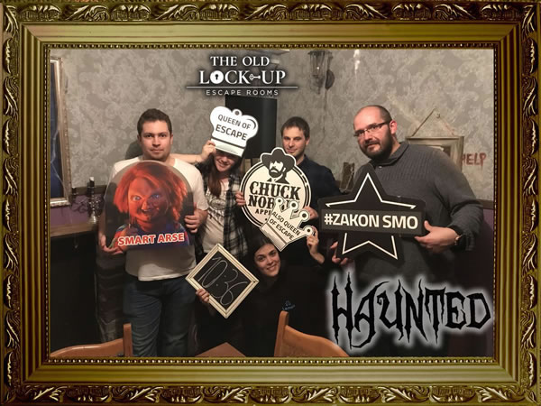 Haunted - escape room Zagreb