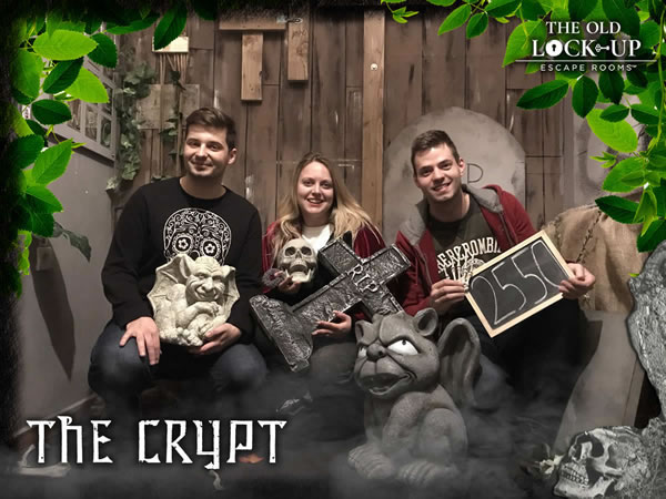 The Crypt - The Old Lock Up Escape Rooms